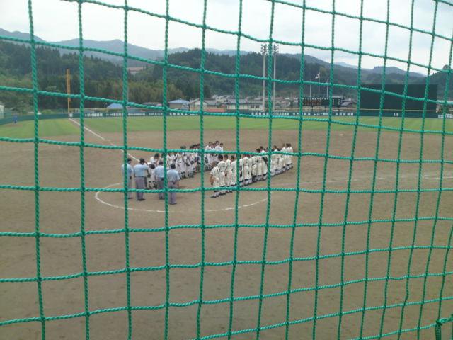 世田米中学校見事初戦突破。