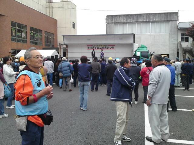 第17回すみた産業祭りの吉本お笑いライブの様子です。
